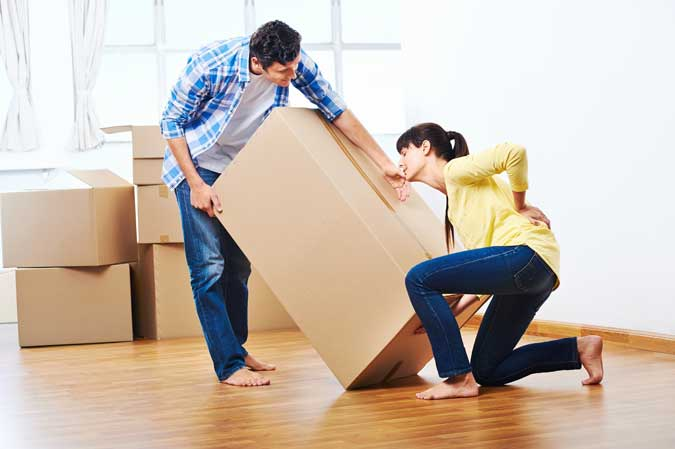 MOVING HEAVY ITEMS CAN BE DONE EASILY